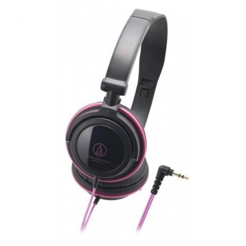 Audio-Technica ATH-SJ11 Black/Pink Ear-pad