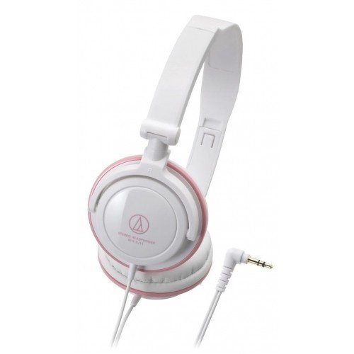 Audio-Technica ATH-SJ11 White/Pink Ear-pad