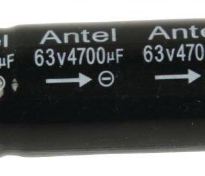 Ax.elko 4700uf 63 V 85°