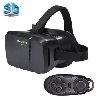 BOBO IIVR 3D-lasit Bluetooth +remote 4-6'' Näyttö