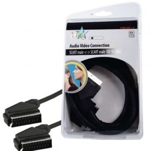 Basic audio / video scart johto 1.50 m