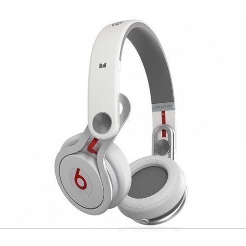 Beats by Dr. DreT Beats MixrT Over Ear Headphone White Fullsize