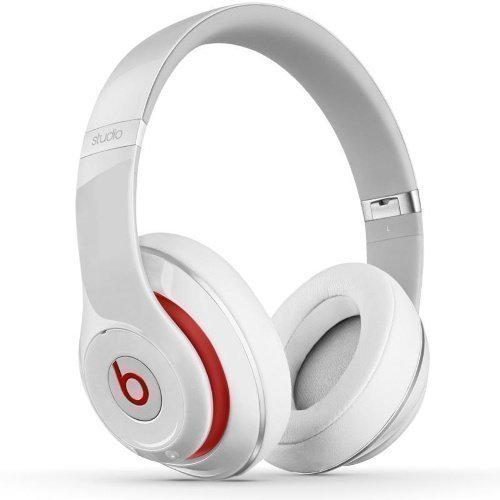 Beats by Dr. DreT Beats StudioT 2.0 FullSize with Mic3 for iPhone White