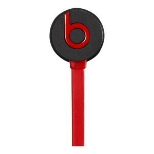 Beats by Dr. DreT urBeats In-Ear with Mic3 for iPhone Matte Black / Red
