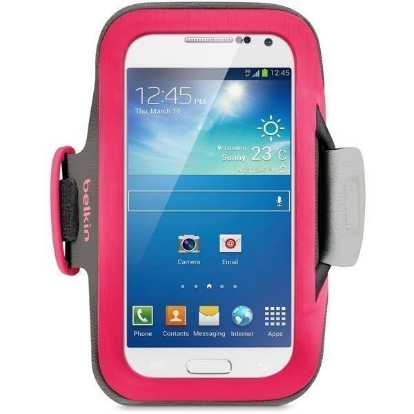 Belkin Slim Fit käsivarsikotelo Galaxy S4 minille säädeltävä vaal.p