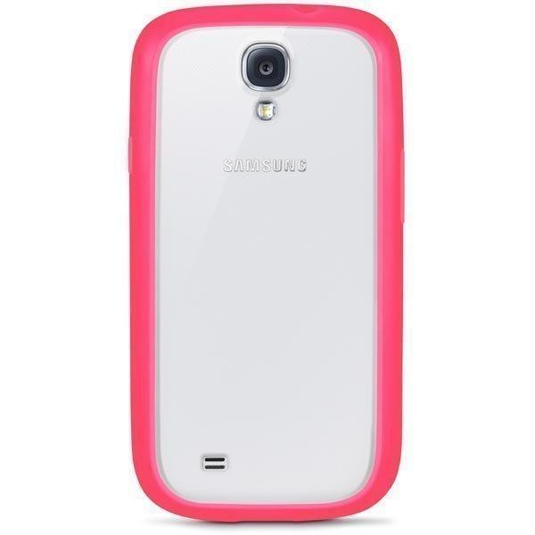 Belkin View Case muovikuori Samsung Galaxy S4 minille vaal.pun.