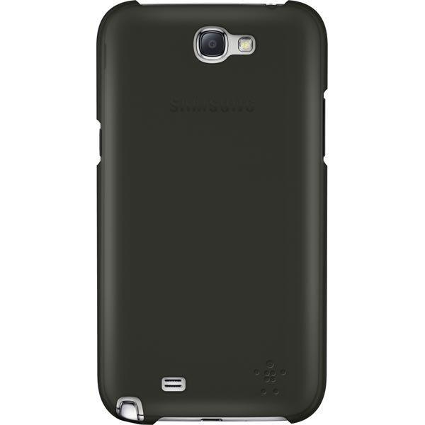 Belkin muovikuori Samsung Galaxy Note II puhelimeen mattapinta musta