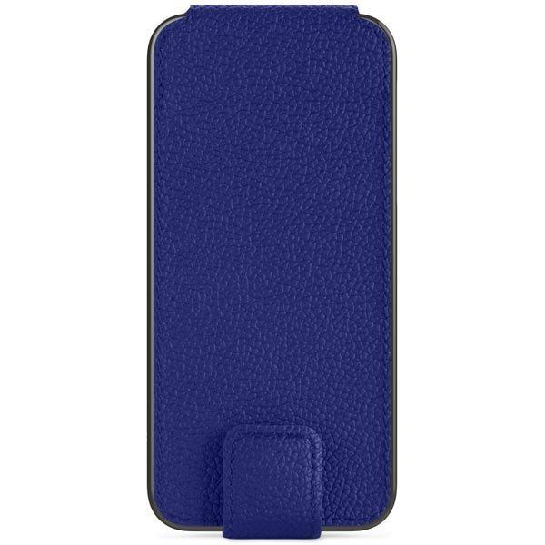 Belkin tekonahkasuojus iPhone 5/5S korttitasku läppä sininen