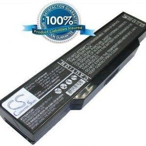 BenQ JoyBook S73 JoyBook S73E JoyBook S73G JoyBook R31E akku 4400 mAh - Musta