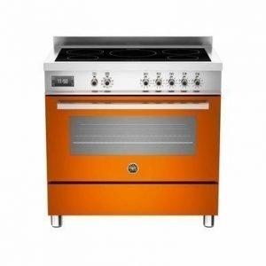 Bertazzoni Professional Induktioliesi 90 cm Oranssi
