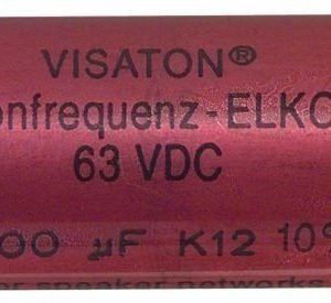 Bipolaire Elco 100 Uf 63 V