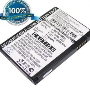 Blackberry Pearl 3G Pearl 2 Pearl 9100 Pearl 9105 Stratus Striker akku 1150 mAh