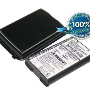 Blackberry Pearl Flip 8220 Pearl 8220 tehoakku laajennetulla takakannella 1600 mAh