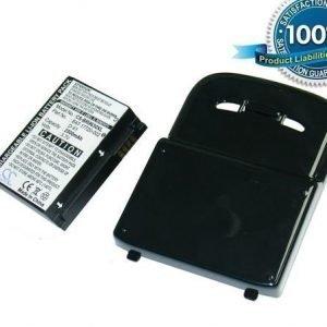 Blackberry Tour 9630 Bold 9650 tehoakku laajennetulla takakannella 2500 mAh