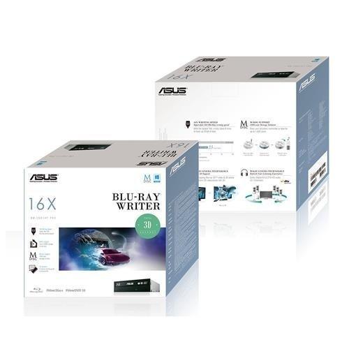 Blu-Ray-Burner-Int Asus BW-16D1HT/BLK/G Blu-Ray Rewriter SATA 16x Black Retail