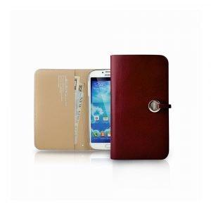 Bluelounge Evouni L56 Nahkasuojus Samsung S4 Punainen