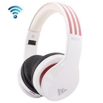 Bluetooth 3.0 Stereo Headset OVLENG MX777 Valkoinen