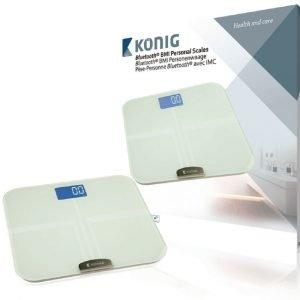 Bluetooth-henkilövaaka jossa BMI-toiminto