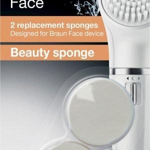 Braun Beauty Sponge Se80 Puhdistusharja 2 Kpl