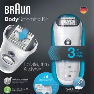 Braun Bgk7050 Wet & Dry Vartalotrimmeri