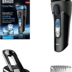 Braun Series 3 Cooltec 2s Black Box Partakone