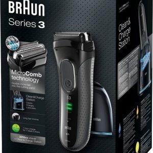 Braun Series 3 Proskin 3050cc Black Partakone