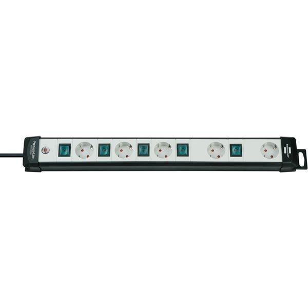 Brennenstuhl Premium Line Technics virtapaneeli 5xCEE 7/4 1xCEE 7/7