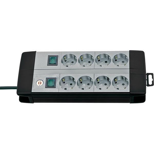 Brennenstuhl Premium Line Technics virtapaneeli 8xCEE 7/4 1xCEE 7/7