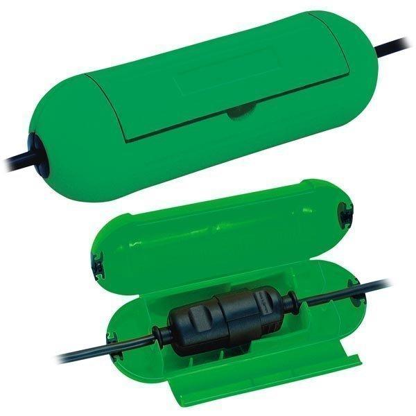 Brennenstuhl Safe-Box suojakotelo jatkojohdoille tummanvihreä