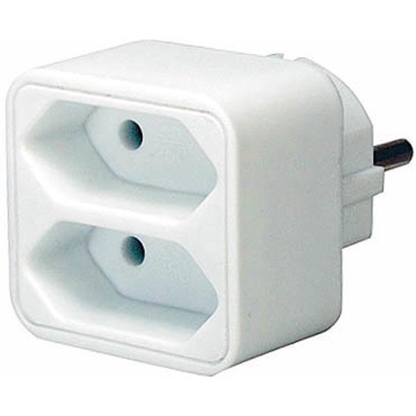 Brennenstuhl virtapaneeli 2xIEC 60906-1 pistok 1x CEE 7/7 liitin va