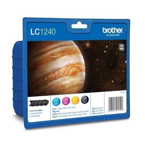 Brother LC1240VAL ink cartridge value pack