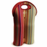 Built NY Double Bottle Tote stripe