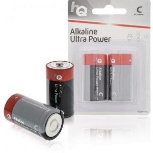 C-alkaliparisto 2 kpl läpipainopakkaus