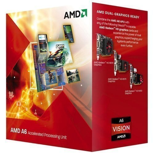 CPU-Socket-FM2 AMD A6 5400K 3