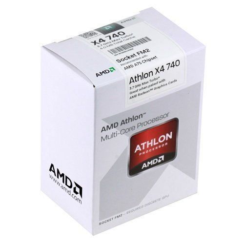 CPU-Socket-FM2 AMD Athlon II A4 740 3.2GHz Socket FM2 Boxed