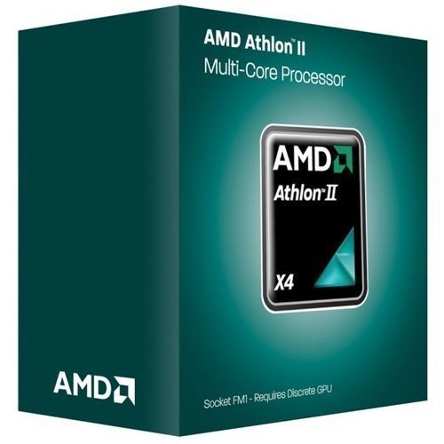 CPU-Socket-FM2 AMD Athlon II A4 750K 3.4GHz Socket FM2 Boxed