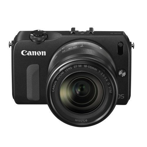 Canon EOS M 18-55+90EX Black