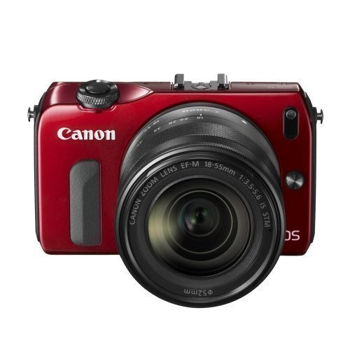 Canon EOS M 18-55+90EX Red