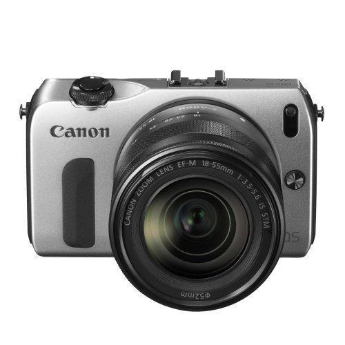 Canon EOS M 18-55+90EX Silver