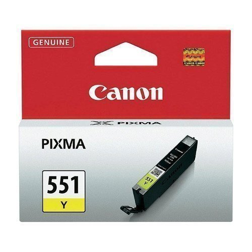 Canon FP Canon CLI-551 Y Gul Ink Cartridge