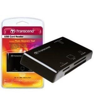 CardReader Transcend Card Reader USB2.0 Black