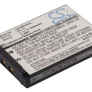 Casio NP-70 yhteensopiva akku 1050 mAh