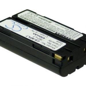 Casio NP-L7 yhteensopiva akku 650 mAh