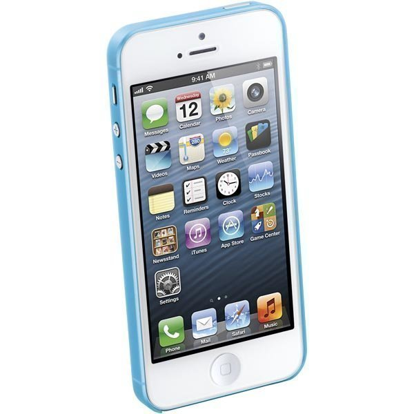 CellularLine 035 Ultra slim ultraohut muovisuojus iPhone 5 sin
