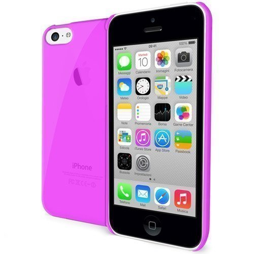 Celly Gelskin TPU Cover iPhone 5c Pink