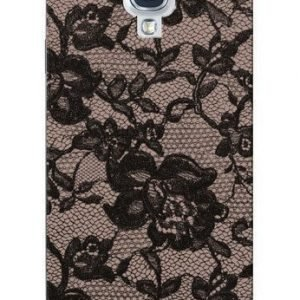 Celly Glamme Lace Case for iPhone 5 Grey