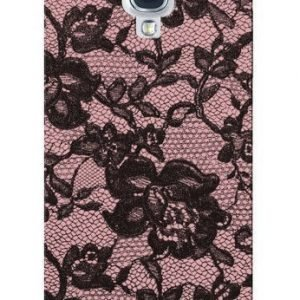 Celly Glamme Lace Case for iPhone 5 Pink