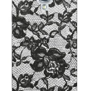 Celly Glamme Lace Case for iPhone 5 White