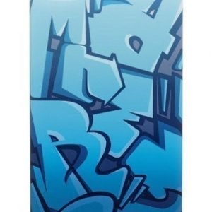 Celly Graffiti Letters Case for iPhone 4S Blue