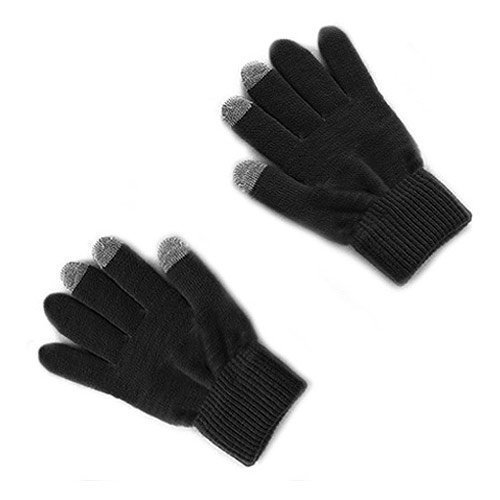 Celly Touch Gloves Medium Black